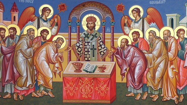 3 views of the eucharist